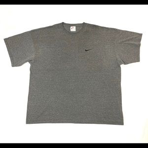 Vintage 90s Nike Essential Embroidered Swoosh Grey